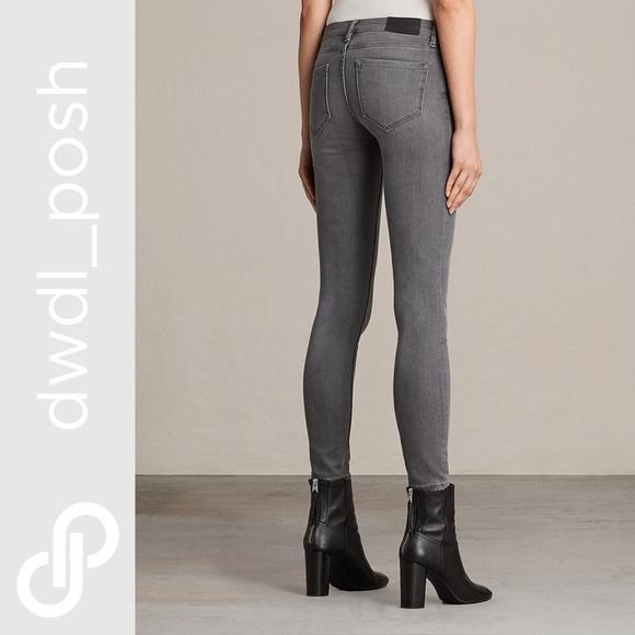 All Saints Denim - All Saints Mast Super Skinny Jeans Size 24 4d3c87523